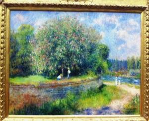 A.Renoir. Chesnut in Blossom. 1888