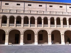 Pati interior del centre cultural La Misericòrdia