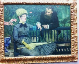 E. Manet In the conservatory