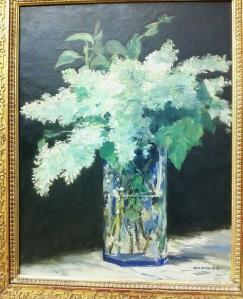E. Manet. White lilac. 1882