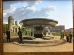 J.E. Hummel. The granite Bowl at the Lustgarten in Berlin. 1831