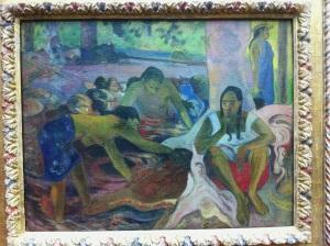 P. Gauguin. Fischerinnen.