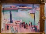 R. Dufy. Harbour. 1908