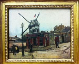 V. Van Gogh. Moulin de la Galette. 1886
